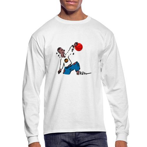 Basketball - Men's Long Sleeve T-Shirt