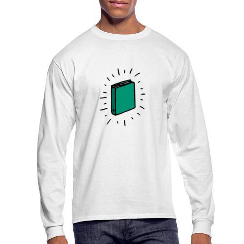 Book - Men's Long Sleeve T-Shirt