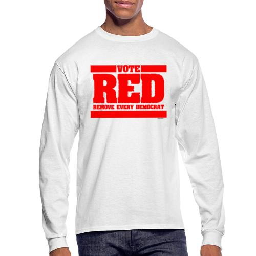 Remove every Democrat - Men's Long Sleeve T-Shirt