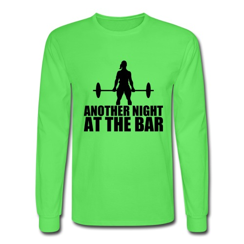 Another Night at the Bar - Men's Long Sleeve T-Shirt
