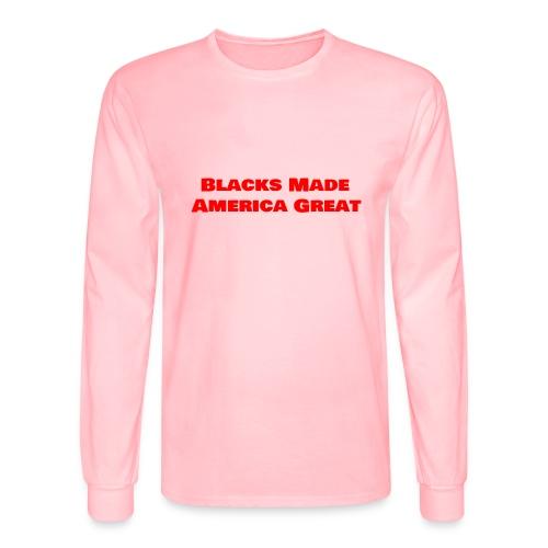 (blacks_made_america1) - Men's Long Sleeve T-Shirt