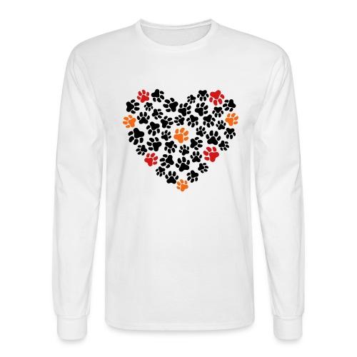 Animal Love - Men's Long Sleeve T-Shirt