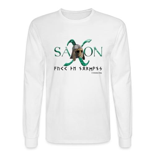 Saxon Pride - Men's Long Sleeve T-Shirt