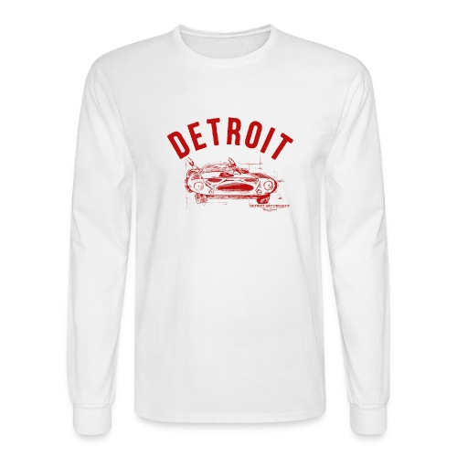 Detroit Art Project - Men's Long Sleeve T-Shirt