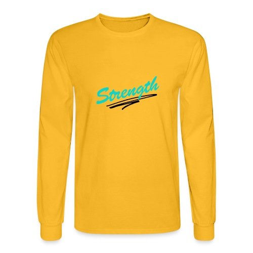 Strength Tank - Men's Long Sleeve T-Shirt