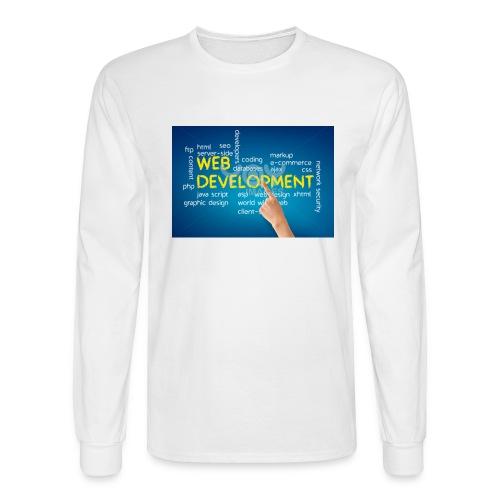 web development design - Men's Long Sleeve T-Shirt