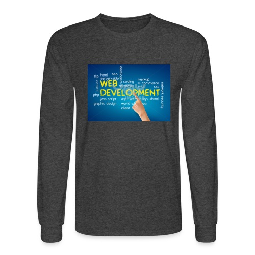 web development design - Men's Long Sleeve T-Shirt