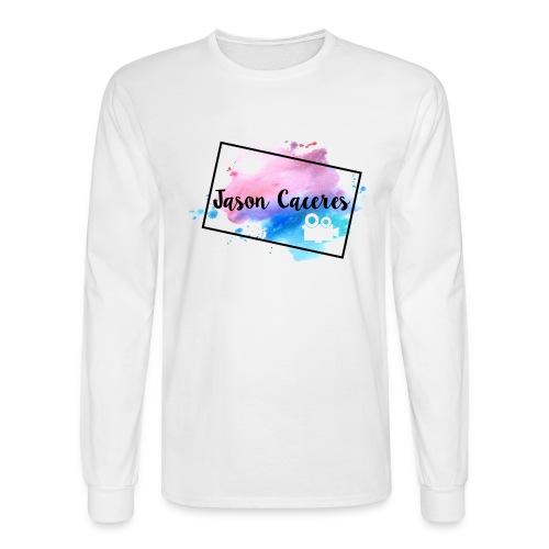 Jason Caceres Opening Intro Logo - Men's Long Sleeve T-Shirt