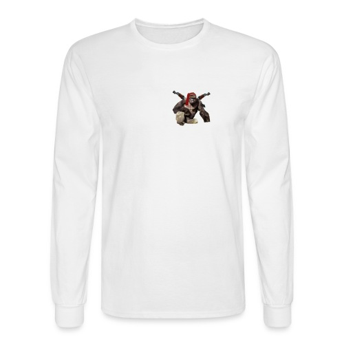 dicks out for harambe - Men's Long Sleeve T-Shirt