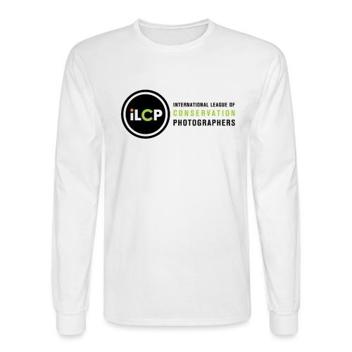 iLCP logo horizontal RGB png - Men's Long Sleeve T-Shirt