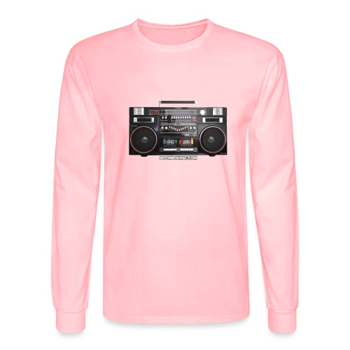 Helix HX 4700 Boombox Magazine T-Shirt - Men's Long Sleeve T-Shirt