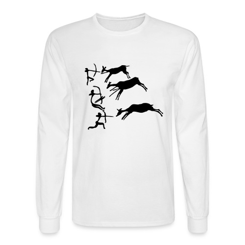Lascaux Cave Painting - Men's Long Sleeve T-Shirt