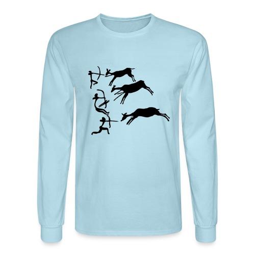 Lascaux Cave Painting - Men's Long Sleeve T-Shirt