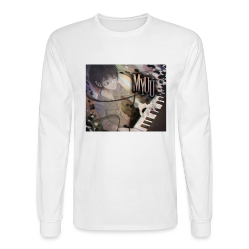 Dark Piano 1 - Men's Long Sleeve T-Shirt