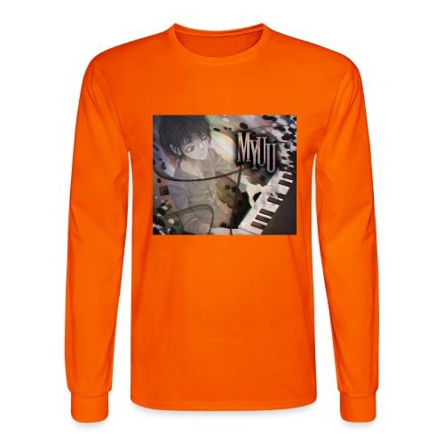 Dark Piano 1 - Men's Long Sleeve T-Shirt