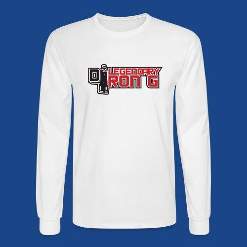 Ron G logo - Men's Long Sleeve T-Shirt