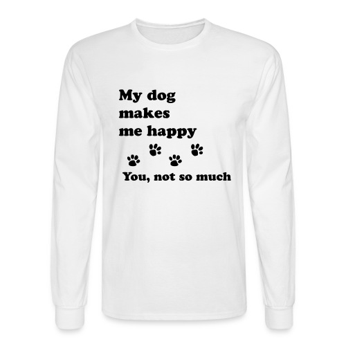 love dog 2 - Men's Long Sleeve T-Shirt