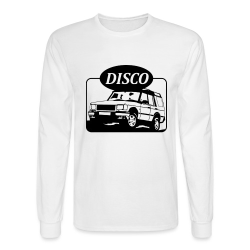Land Rover Discovery illustration - Men's Long Sleeve T-Shirt