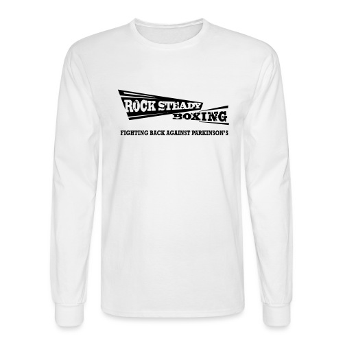I Am Rock Steady T shirt - Men's Long Sleeve T-Shirt