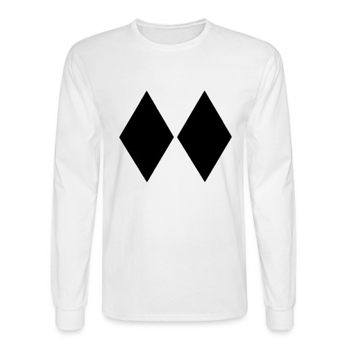 Double Black Diamond - Men's Long Sleeve T-Shirt