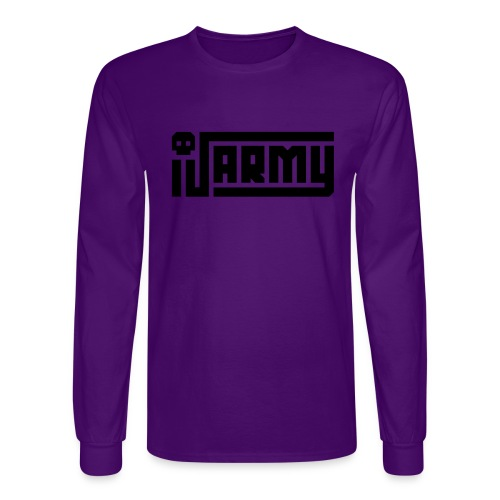 iJustine - iJ Army Logo - Men's Long Sleeve T-Shirt
