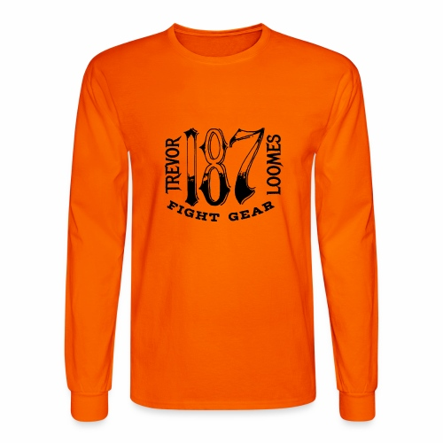 Trevor Loomes 187 Fight Gear Street Wear Logo - Men's Long Sleeve T-Shirt