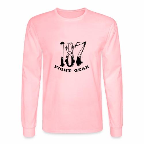 Trevor Loomes 187 Fight Gear Logo Best Sellers - Men's Long Sleeve T-Shirt