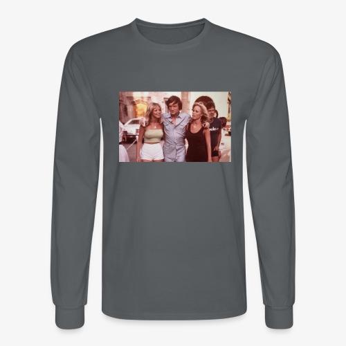 Hugh Hefner - Men's Long Sleeve T-Shirt