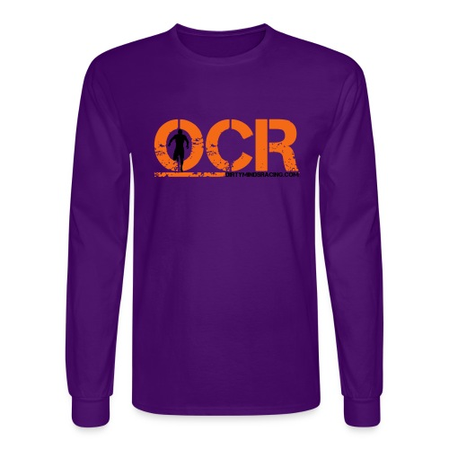 OCR - Obstacle Course Racing - Men's Long Sleeve T-Shirt