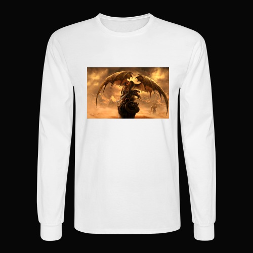 Dragon féroce - Men's Long Sleeve T-Shirt