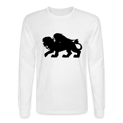 Sphynx Silhouette - Men's Long Sleeve T-Shirt