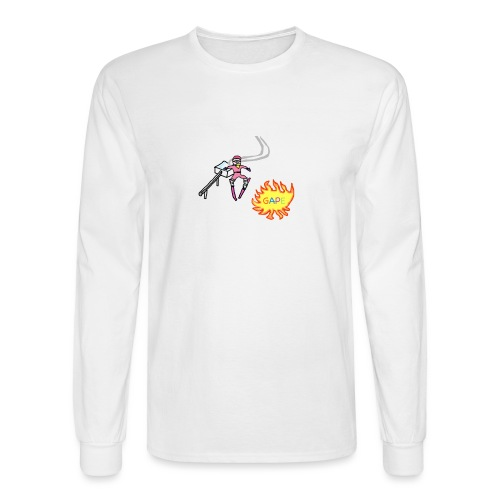 Gape Tee - Men's Long Sleeve T-Shirt