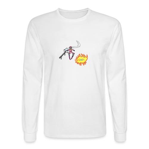 Gape Hoodie - Men's Long Sleeve T-Shirt