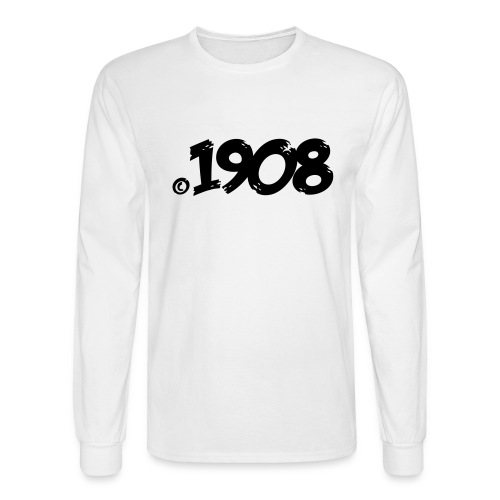 Made in 1908 Copyright - Men's Long Sleeve T-Shirt