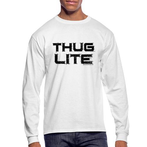 Thug Lite BLK.png - Men's Long Sleeve T-Shirt