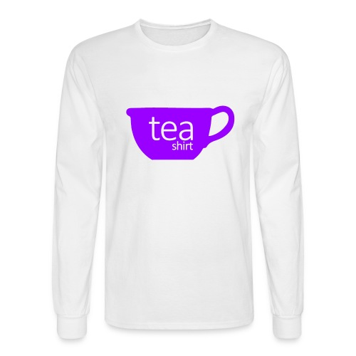 Tea Shirt Simple But Purple - Men's Long Sleeve T-Shirt