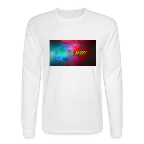 NYAH AND JAZZY - Men's Long Sleeve T-Shirt