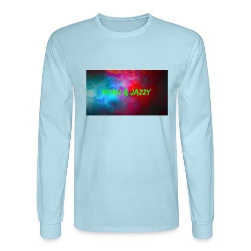 NYAH AND JAZZY - Men's Long Sleeve T-Shirt