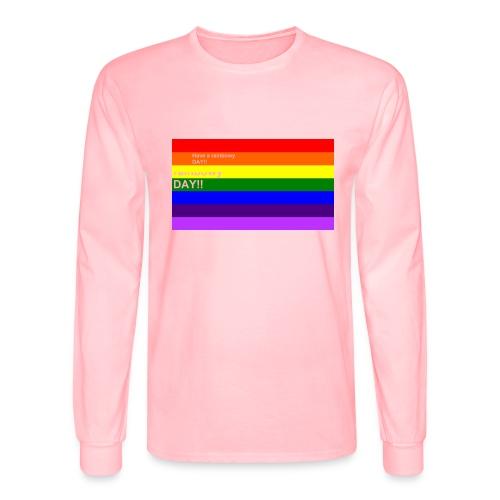 rainbowy day - Men's Long Sleeve T-Shirt