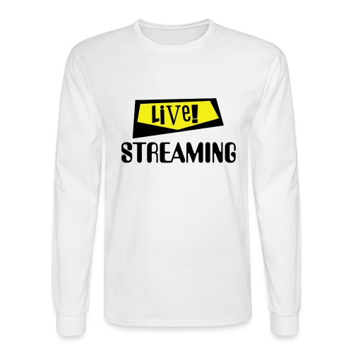 Live Streaming - Men's Long Sleeve T-Shirt