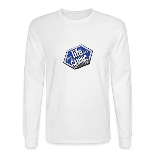 My Life In Gaming sticker - Men's Long Sleeve T-Shirt
