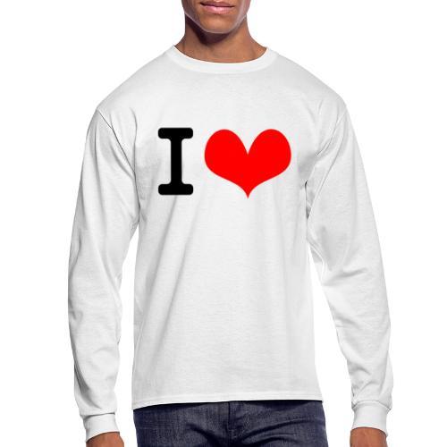 I Love what - Men's Long Sleeve T-Shirt