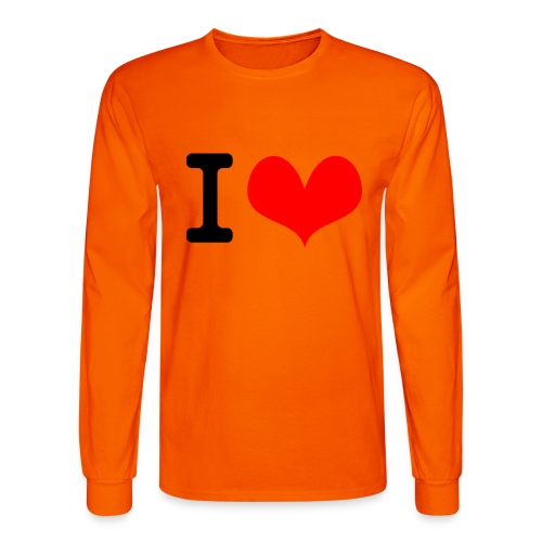 I Love what - Men's Long Sleeve T-Shirt