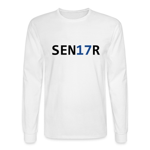 Senior Graduation 2017 - Men's Long Sleeve T-Shirt