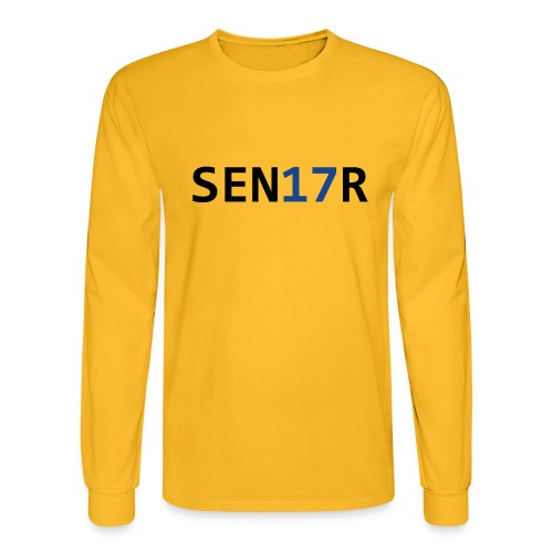 Senior Graduation 2017 - Men's Long Sleeve T-Shirt