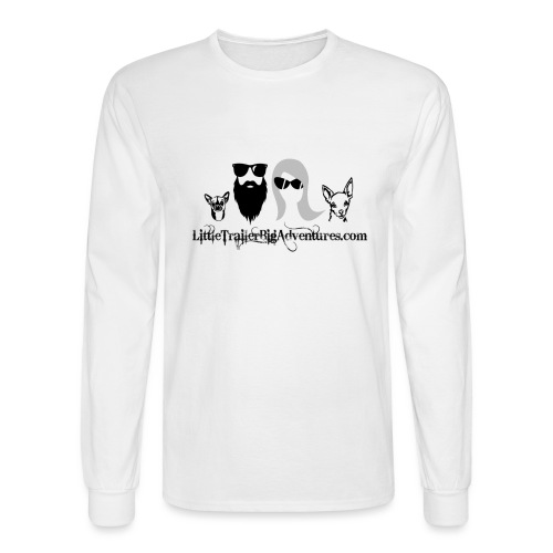 LTBA Heads Logo - Men's Long Sleeve T-Shirt