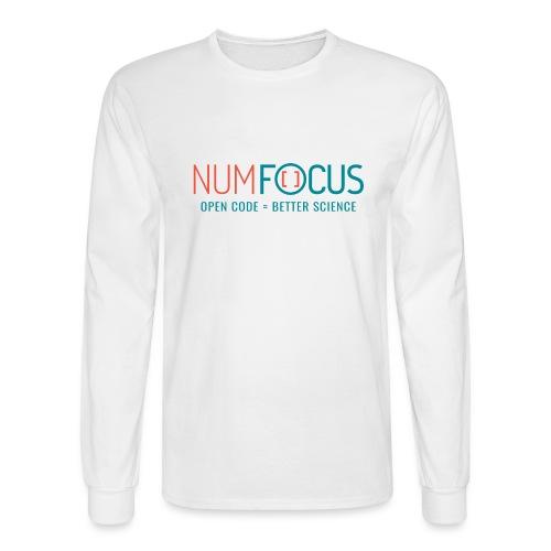 NumFOCUS Official Logo - Men's Long Sleeve T-Shirt