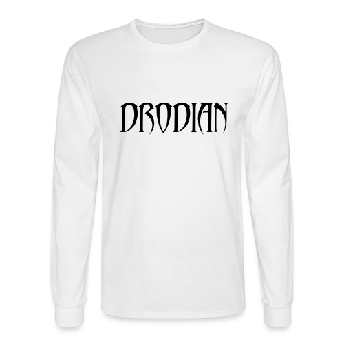 CLASSIC DRODIAN (BLACK LETTERS) - Men's Long Sleeve T-Shirt