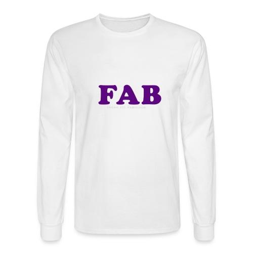 FAB Tank - Men's Long Sleeve T-Shirt