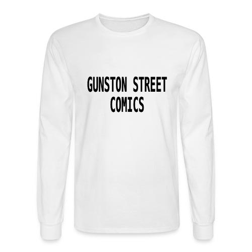 GUNSTON STREET COMICS - Men's Long Sleeve T-Shirt